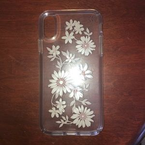 Speck floral protective case iPhone XR GUC
